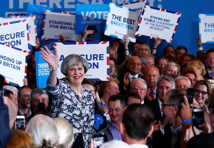 Las elecciones no estaban previstas hasta el año 2020, pero la primera ministra británica expresó su voluntad de celebrarlas de manera anticipada. ( Reuters).