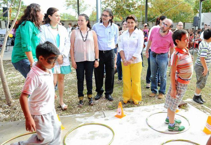 Aspecto de la convivencia en el Hospital Psiquiátrico Yucatán. (Cortesía)