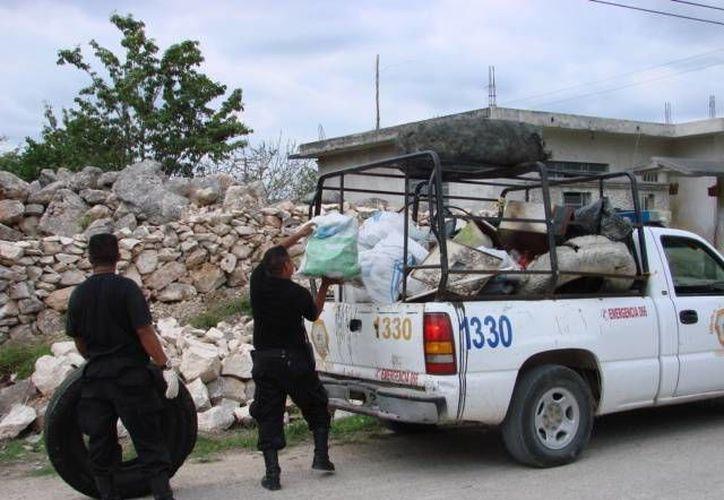El paro del personal de Servicios Públicos afectó las labores de otras áreas. (Manuel Salazar/SIPSE)