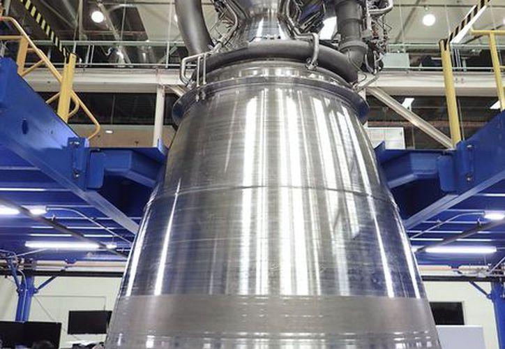 Motor espacial BE-4 de Blue Origin. (Jeff Bezos)