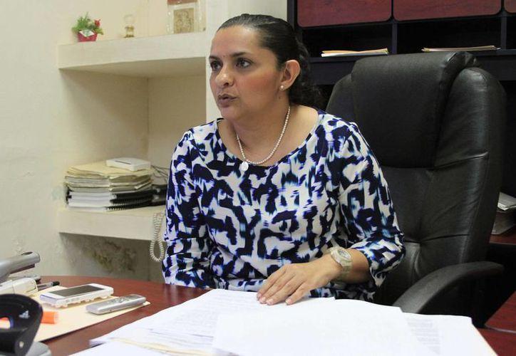 La contralora municipal, Teresita Quiven Feria, señaló que se presentarán procedimientos administrativos a algunos funcionarios. (Harold AlcocerSIPSE)