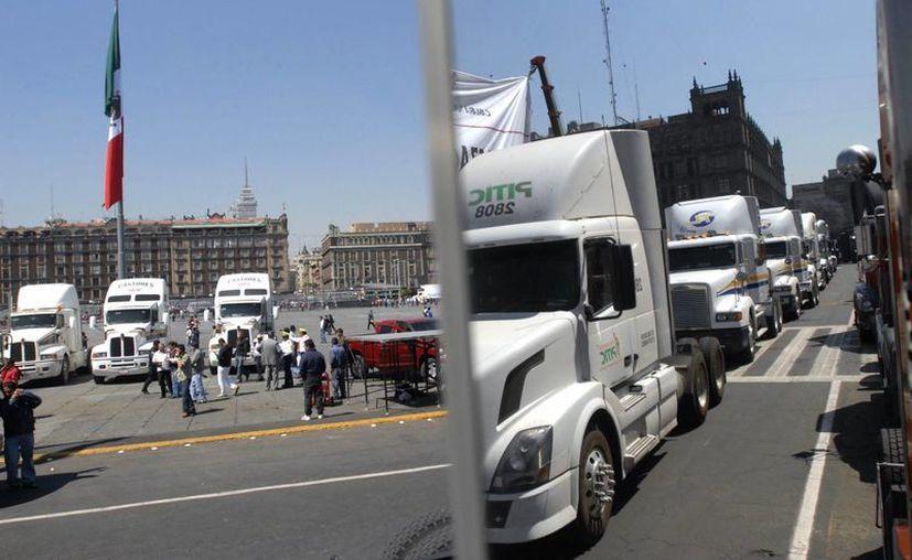 La iniciativa también busca reducir los accidentes de tránsito. (EFE)
