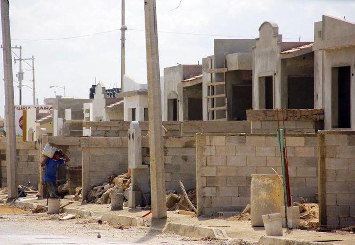 La construcción de casas en Yucatán incrementó en abril con respecto a marzo. (Milenio Novedades)