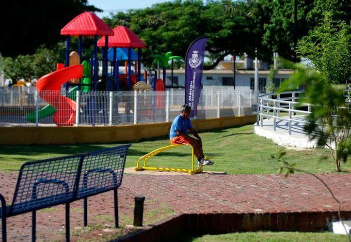 El Ayuntamiento de Mérida anunció la construcción de cuatro parques y le rehabilitación en varios de ellos, con inversión de 61 mdp. (Archivo/SIPSE)