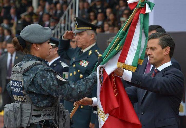 Este viernes, el Presidente de México puso en marcha a la Gendarmería, como una división de la Policía Federal. (presidencia.gob.mx)