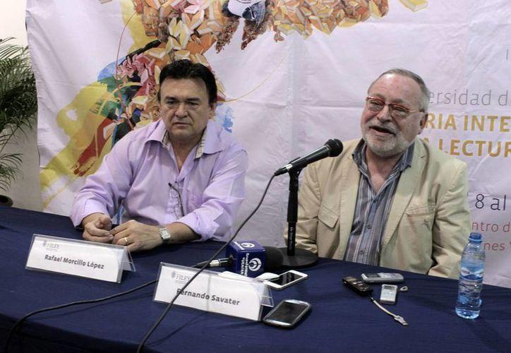 """Fernando Savater ofreció la conferencia """"Compromisos y responsabilidades en el arte de educar en el siglo XXI"""". (Milenio Novedades)"""