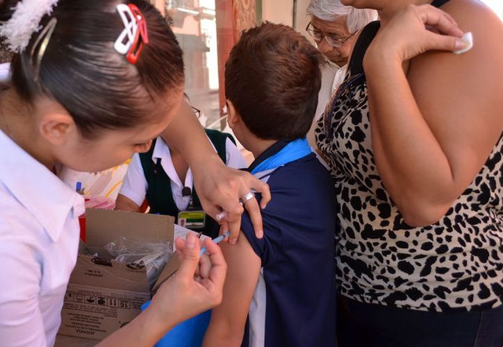 En México existen campañas de vacunación contra el sarampión. (Foto: Milenio Novedades)