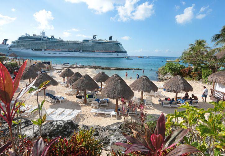 Cozumel no fue afectado de manera significativa por las alertas de viaje para el visitante estadounidenses. (Foto: Redacción/SIPSE)
