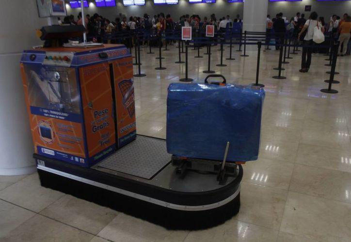 El hecho no pasó a mayores, pues pertenecía a un empleado de una agencia de viajes. (Israel Leal/SIPSE)