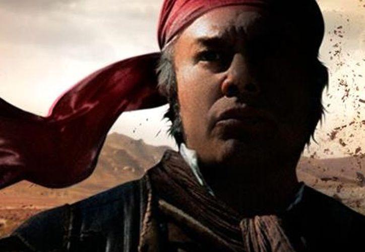 Dagoberto Gama interpretó a Morelos, pero el filme no tuvo buena acogida. (Notimex)
