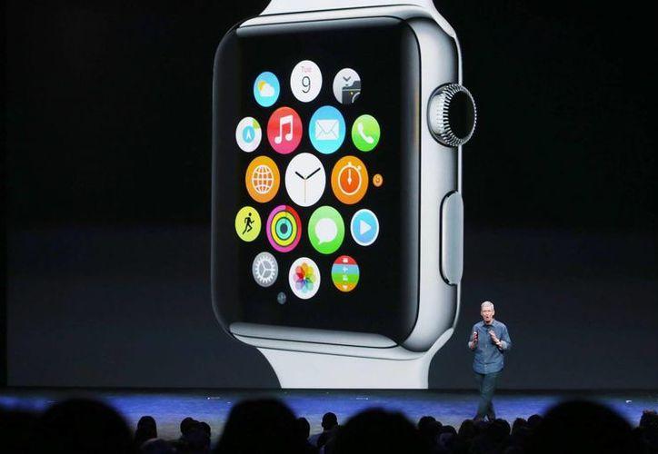Se espera que Apple presente el 21 de marzo nuevos aditamentos para el iWatch. (Archivo/Agencias)