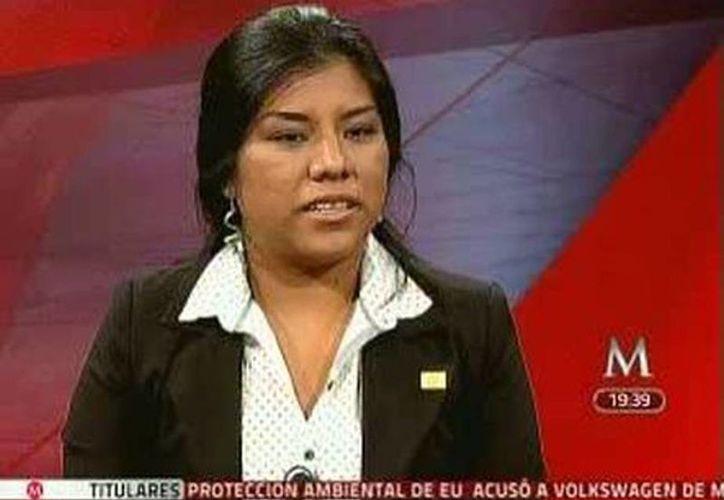 Jessica Sarahí Espinosa López fue acusada de robo agravado en pandilla. (Milenio)
