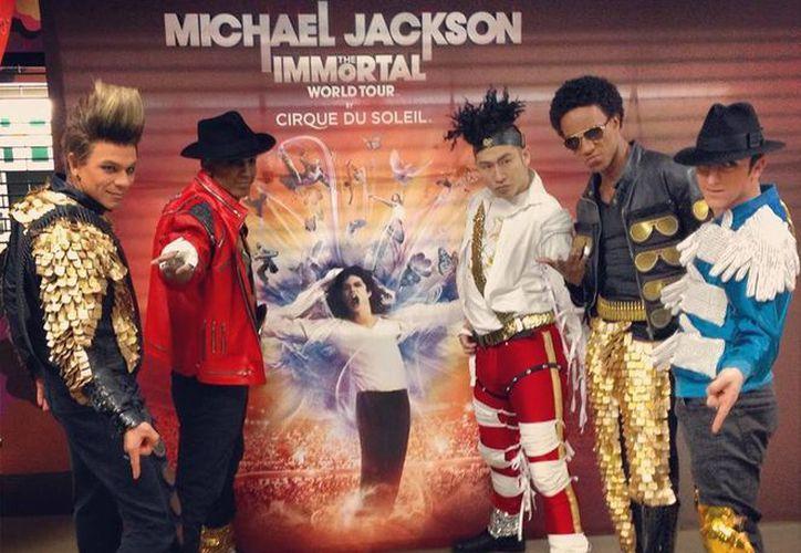 Desde su estreno mundial en Montreal, en octubre de 2011, esta electrizante producción ha emocionado audiencias en América del Norte, Europa, Asia, Australia, Nueva Zelanda y Medio Oriente. (Facebook/Michael Jackson The Immortal World Tour by Cirque du Soleil)