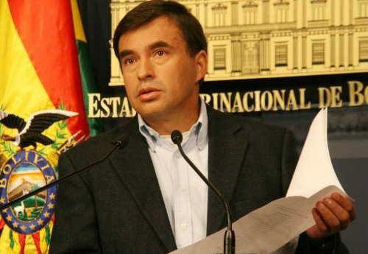 Juan Ramón Quintana:  queremos honrar nuestro compromiso. (www.hoybolivia.com)