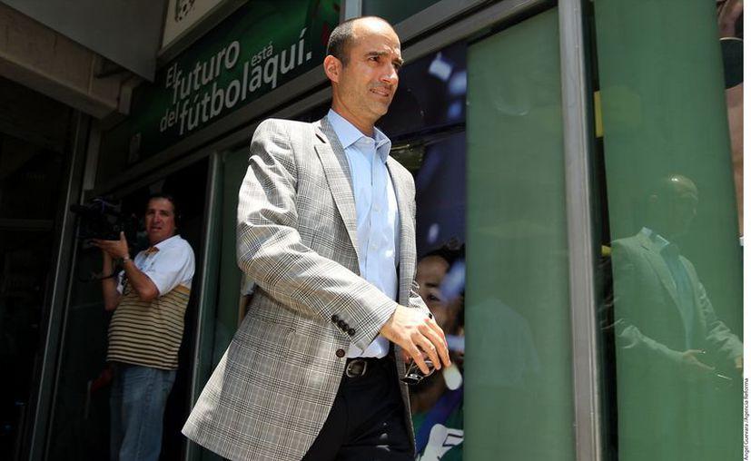 El ex jugador del Atlante, Guillermo Cantú, será uno de los inversionistas al frente del Veracruz. (REFORMA)