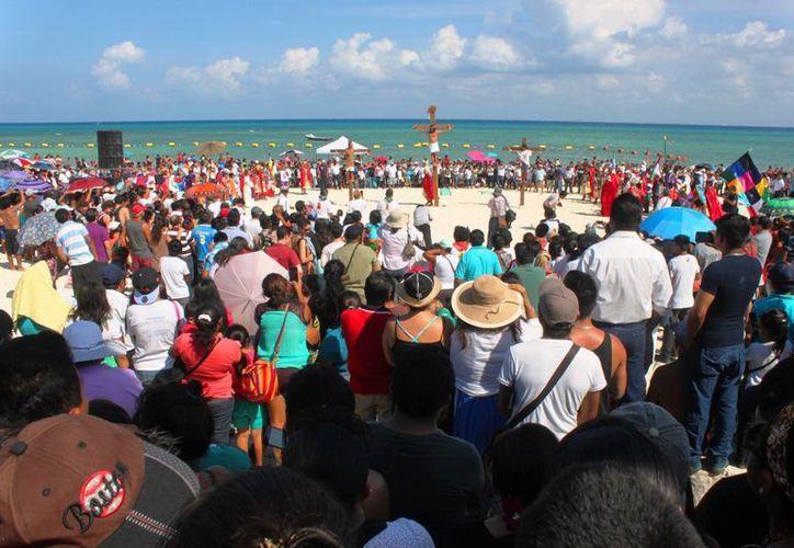 Autoridades municipales informaron que las actividades empezarán desde las 8:00 de la mañana. (Daniel Pacheco/SIPSE)