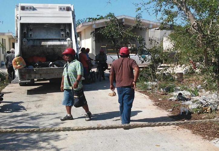 Recolectores de basura de Progreso acusan a sus dirigentes de ser fiesteros y de emborracharse todos los días. (Óscar Pérez/SIPSE)