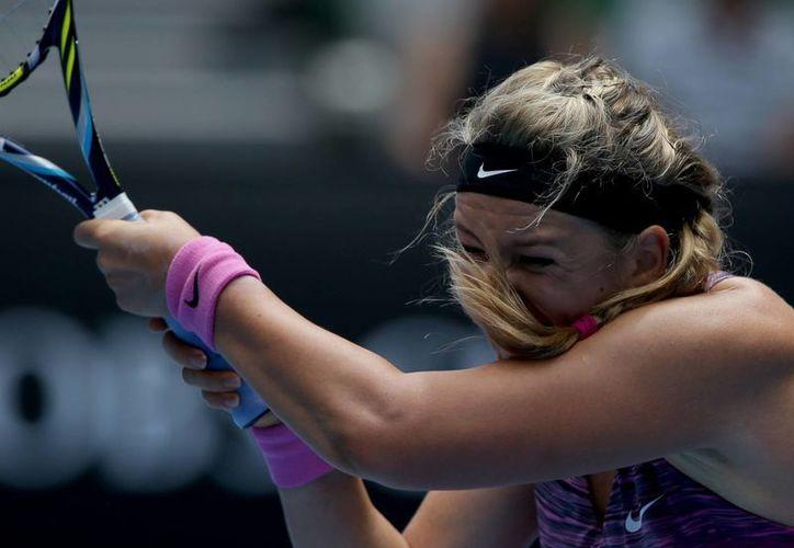 Azarenka se impuso 6-3, 6-2 a la estadunidense Sloane Stephens y ahora enfrentará a la polaca Agnieszka Radwanska en cuartos de final del Abierto de Australia. (Agencias)