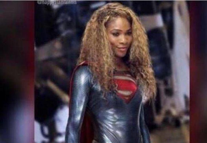 Esta es la foto que publicó la tenista Serena Williams en redes sociales después de haber evitado un atraco. (Facebook)