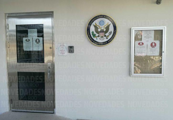 Los turistas o residentes norteamericanos volverán a contar con la protección y orientación del consulado. (Foto: Octavio Martínez/SIPSE).