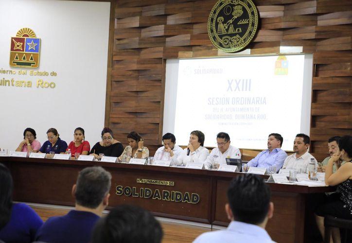 En lo que va de la administración que encabeza Laura Beristáin Navarrete en el municipio de Solidaridad, se han registrado varias separaciones de cargos y renuncias de colaboradores de primer nivel. (Octavio Martínez/SIPSE)