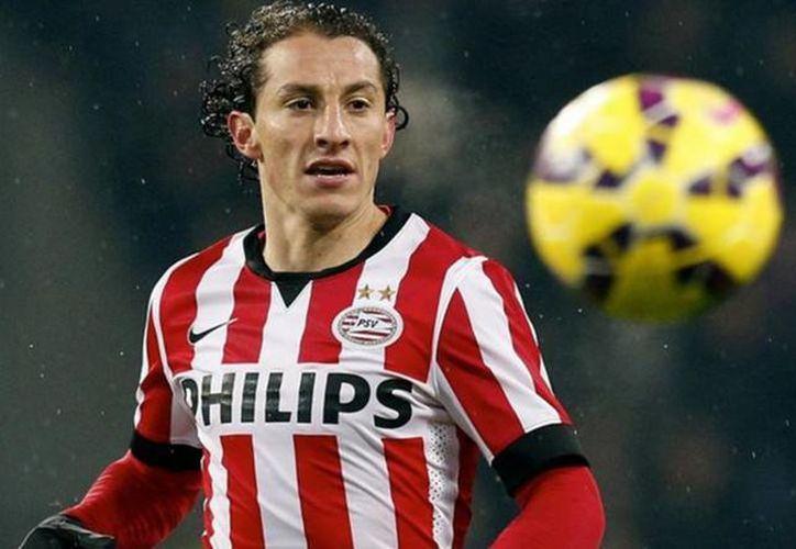 En su primera temporada con el PSV, Andrés Guardado podría ganar el premio de la prensa como mejor jugador de la temporada. (impacto.mx)