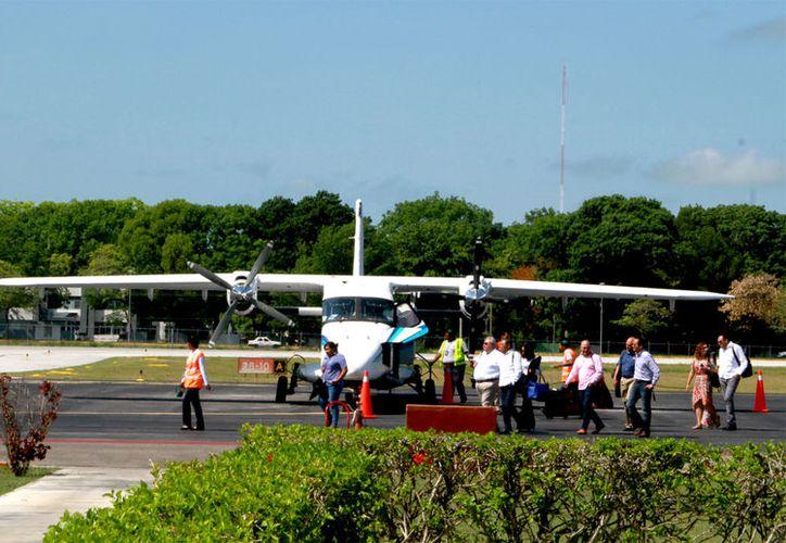 150 metros se ubica el matadero del aeropuerto cuando debe estar a 8 kilómetros de distancia. (Foto: Ángel Castilla / SIPSE)
