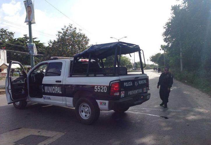 Un operativo de búsqueda se implementó en la Región 99 tras el reporte de la fuga de dos reos. (Redacción/SIPSE)