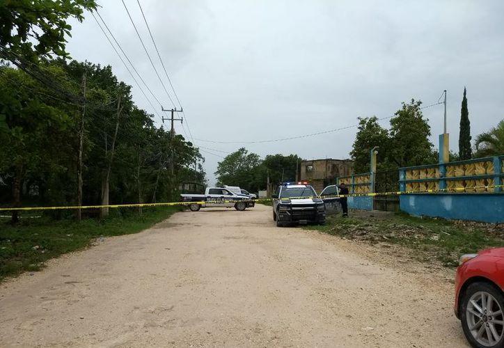 El ataque se registró en un camino de terracería. (Redacción/SIPSE)