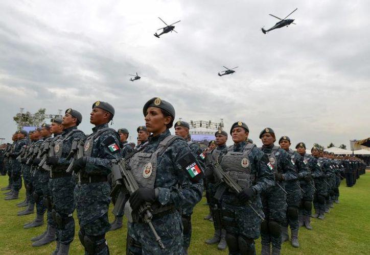 El nuevo modelo de operación de la Gendarmería Nacional se respalda en las seis Divisiones de la Policía Federal. (presidencia.gob.mx)