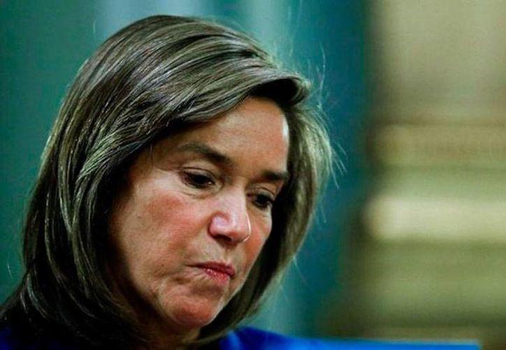 Imagen de archivo de Ana Mato, ministra de Salud de España, quien está implicada en un caso de corrupción. (que.es)