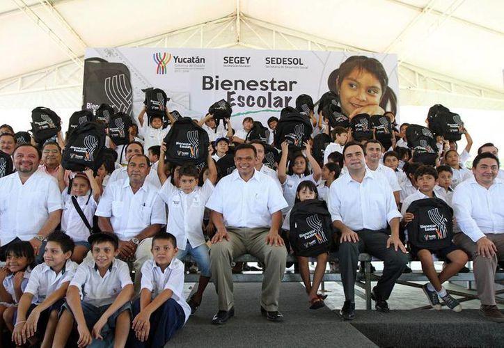En el programa se invertirán más de 63 millones de pesos. (yucatan.gob.mx)
