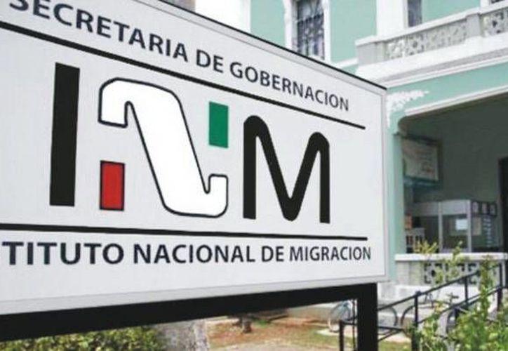 El INM recibió ayer a los cubanos rescatados y se confirmó que son seis, y no cinco. (SIPSE)