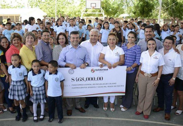 Se le dará mantenimiento a 103 escuelas de educación básica, con inversión de 40 millones pesos. (Redacción/SIPSE)
