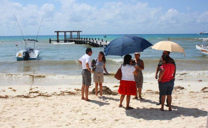 Empresarios, prestadores de servicios y ambientalistas piden que se retome en tema de la recuperación de arenales en Playa del Carmen. (Daniel Pacheco/SIPSE)