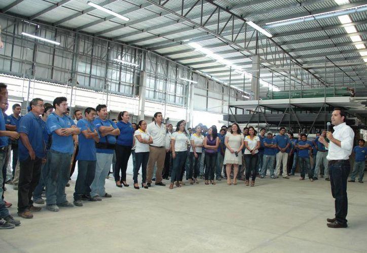 Mauricio Vila reiteró las ventajas de su propuesta de Transporte Inteligente de Mérida. (SIPSE)
