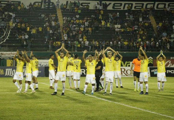 Los ciervos tuvieron la mayor cantidad de llegadas a gol en el juego. (José Acosta/Novedades Yucatán)