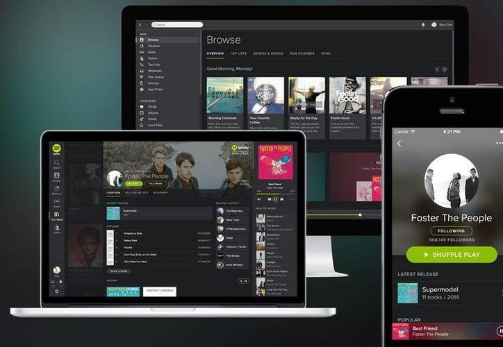 El Spotify lanza servicio para familias de hasta cinco personas (Shutterstock)