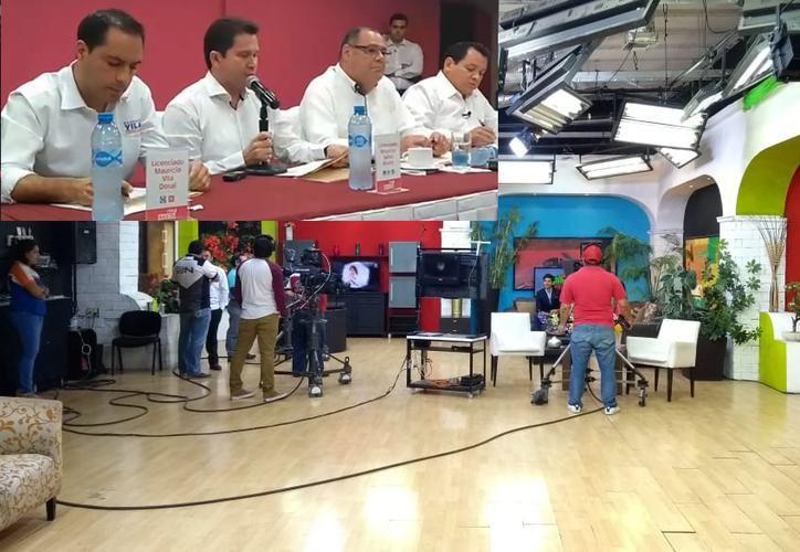 El debate se transmitirá por Sipse Televisión de las 20 a las 21:30 horas. (SIPSE)