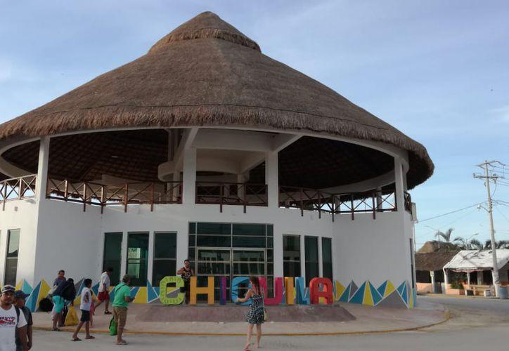 El parador turístico requirió 12 millones de pesos de inversión. (Alejandro García/SIPSE)