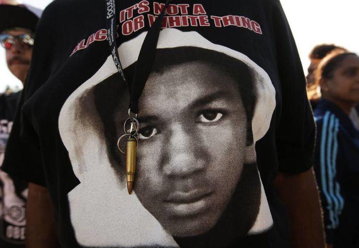 Trayvon Martin fue baleado por un vigilante anglosajón. (Agencias)