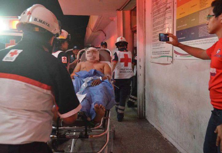Una mujer perdió la vida y un hombre resultó herido luego de que les dispararan en la comunidad de Leona Vicario, ayer por la noche. (Redacción/SIPSE)
