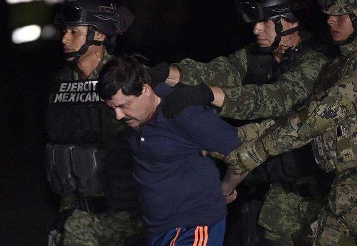 El Chapo denunció que no ha  podido ver a su familia y que a su abogado solo lo puede ver media hora. (Archivo/Agencias)