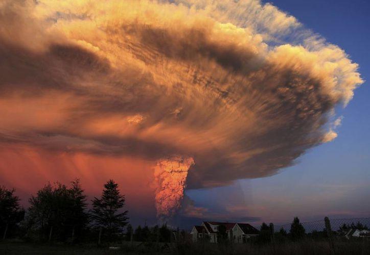 El volcán Calbuco pasó más de 40 años en inactividad. (AP)