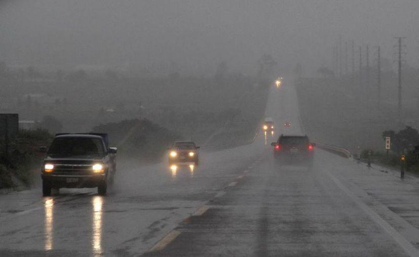 El temporal de lluvias será una constante durante varios días más en varias regiones del país. (Notimex)