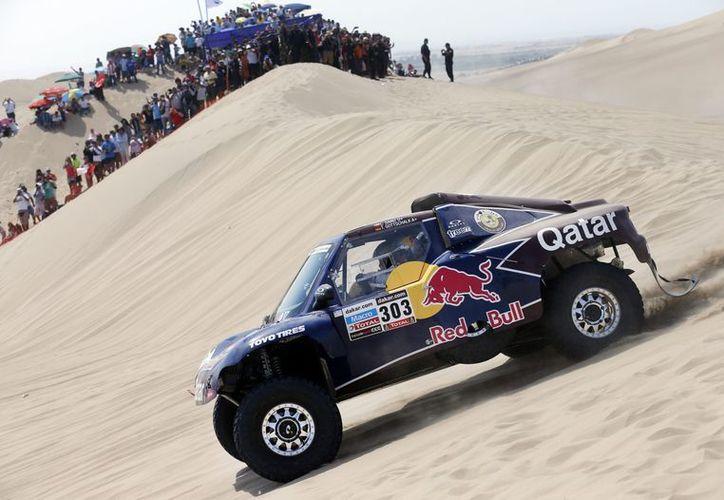 Sainz, del equipo Buggy superó al argentino Lucio Álvarez del Toyota. (Foto: EFE)