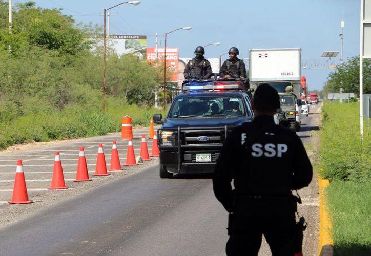 Los retenes, clave para evitar que delincuentes se escapen a otros estados. (Milenio Novedades)