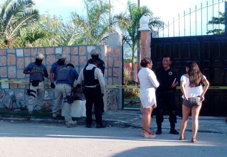 """La fiesta """"rave"""" se realizó en una quinta del sur de la capital yucateca. (Martín González/Milenio Novedades)"""