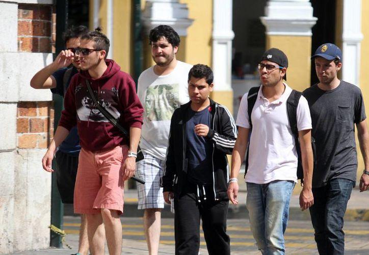 Para este miércoles la Conagua pronostica una máxima de 34 grados de temperatura para Mérida. (Amílcar Rodríguez/Milenio Novedades)