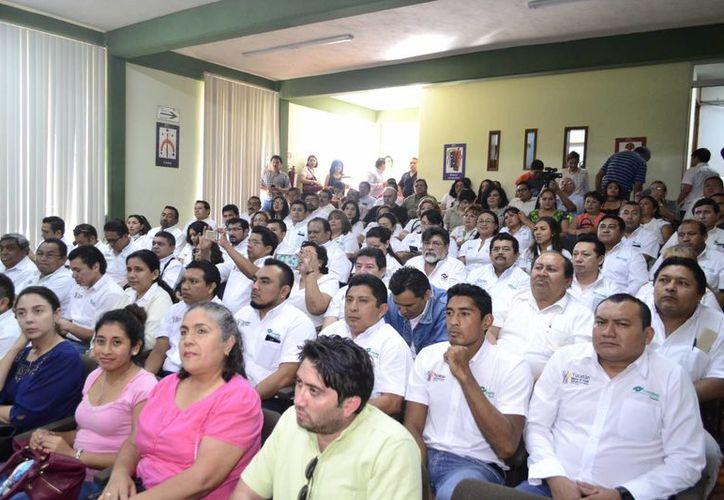 67 maestros del Conalep participaron en los diplomados durante 18 sábados. (Daniel Sandoval/ Milenio Novedades)